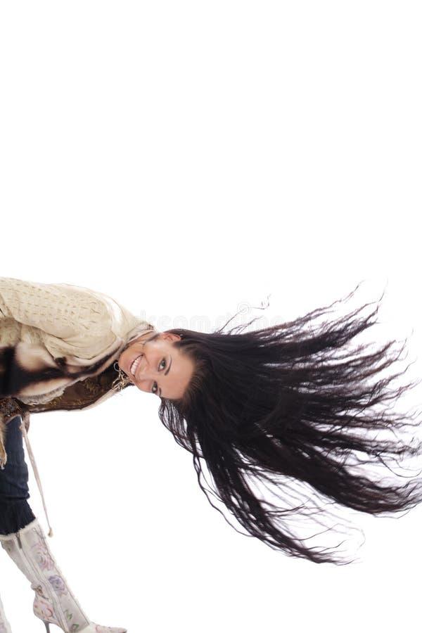 mod włosy zdjęcia stock