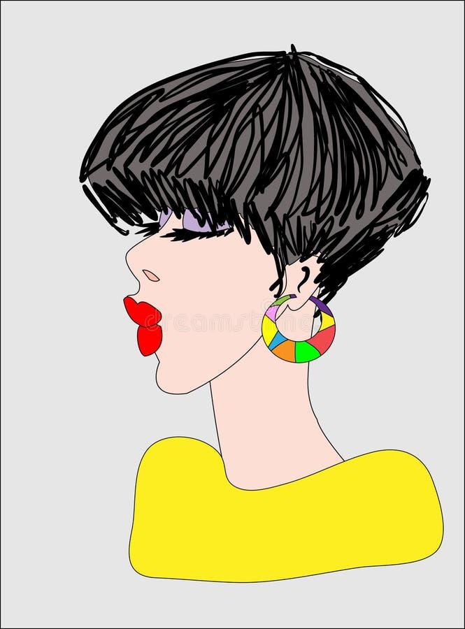 moda stock illustrationer