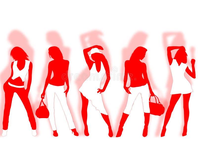 moda ilustracja wektor