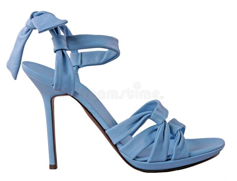 Download Moda buty zdjęcie stock. Obraz złożonej z stopa, błękitny - 28971528