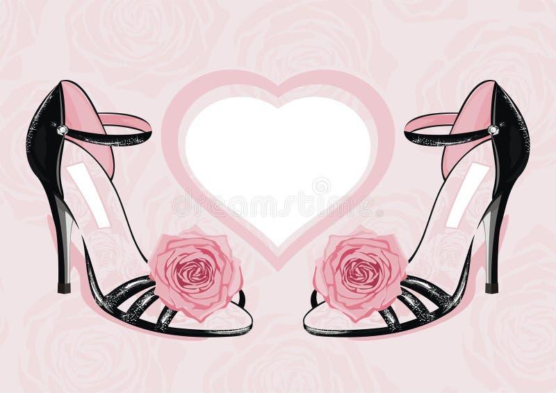 moda buty ilustracja wektor