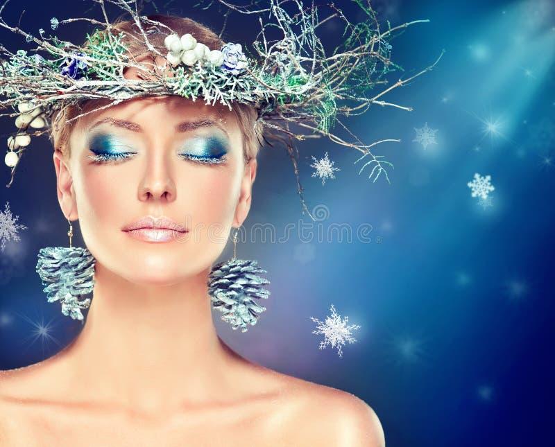 Moda de la Navidad imagen de archivo