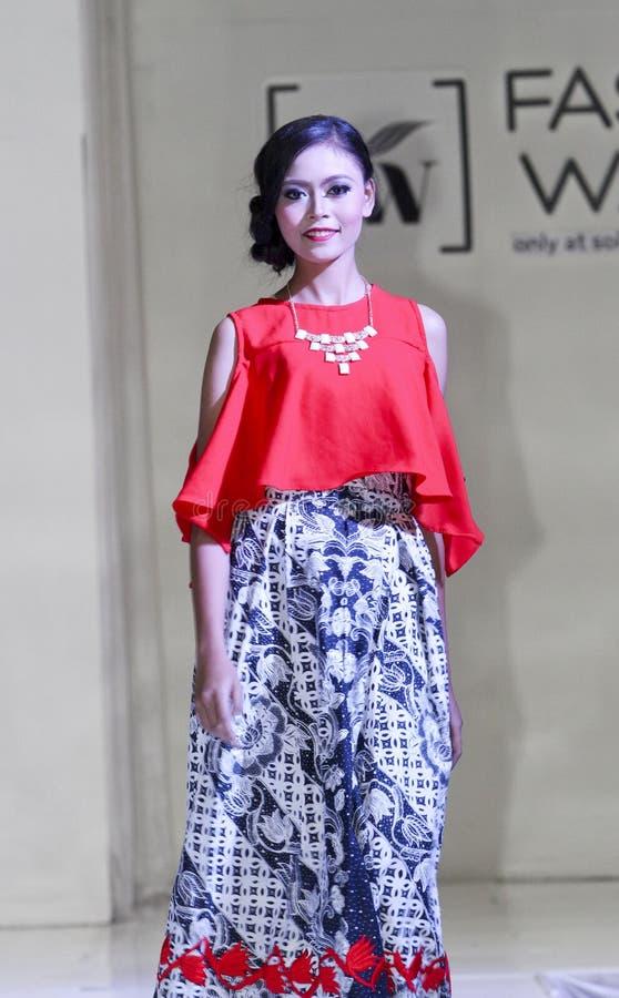 Moda del batik imágenes de archivo libres de regalías