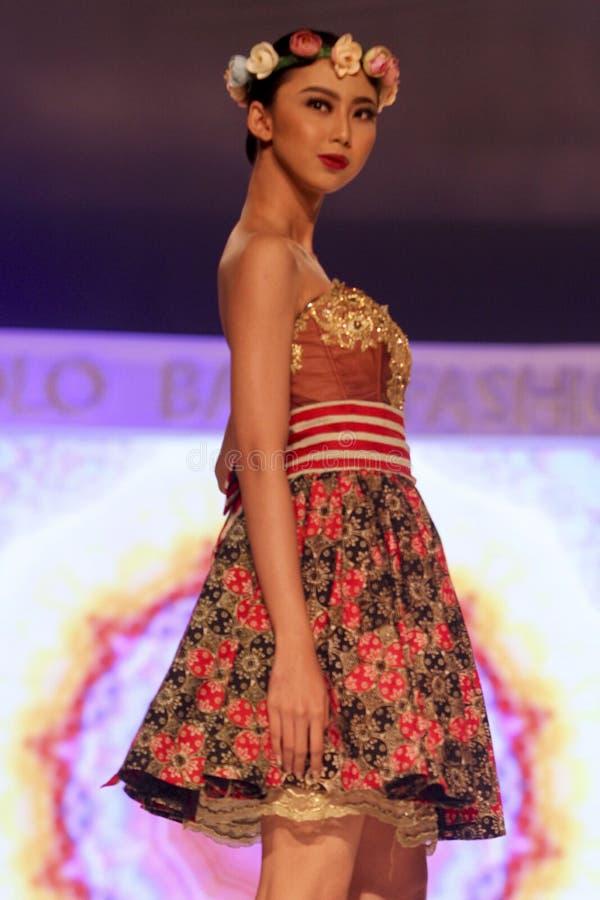 Moda del batik fotos de archivo libres de regalías