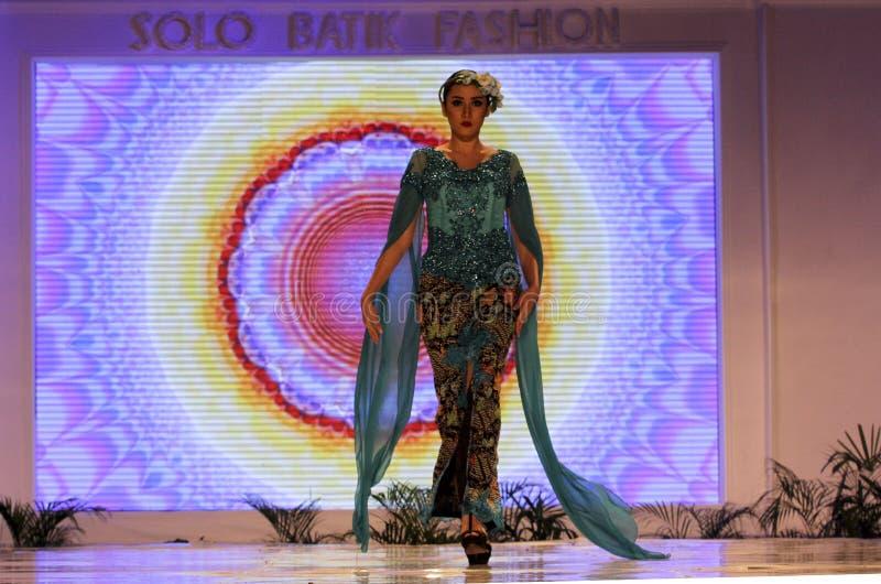 Moda del batik imagen de archivo