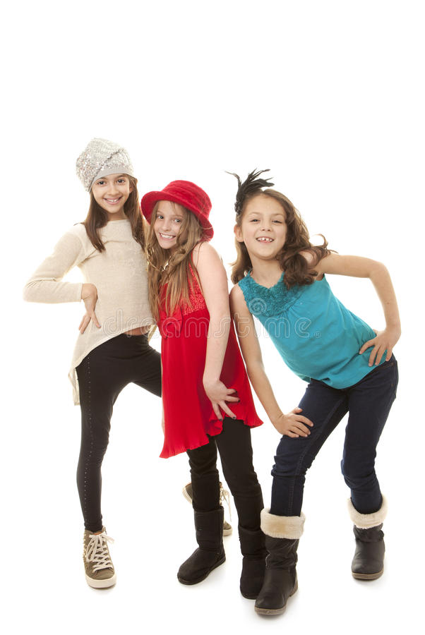 Moda dzieciaki fotografia stock