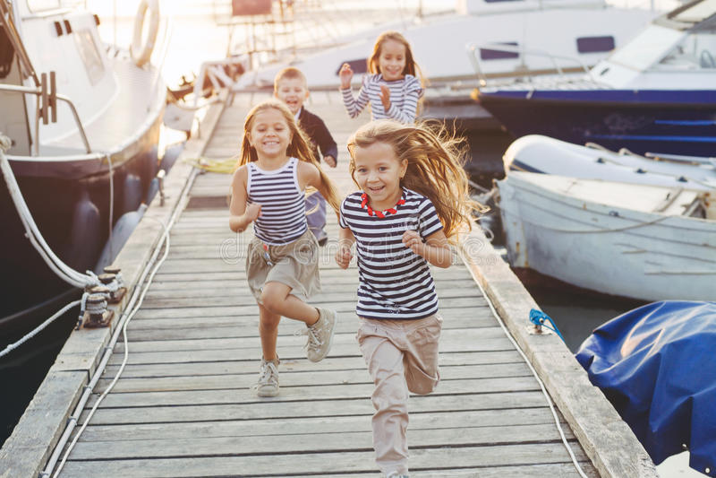 Moda dzieciaki zdjęcia royalty free
