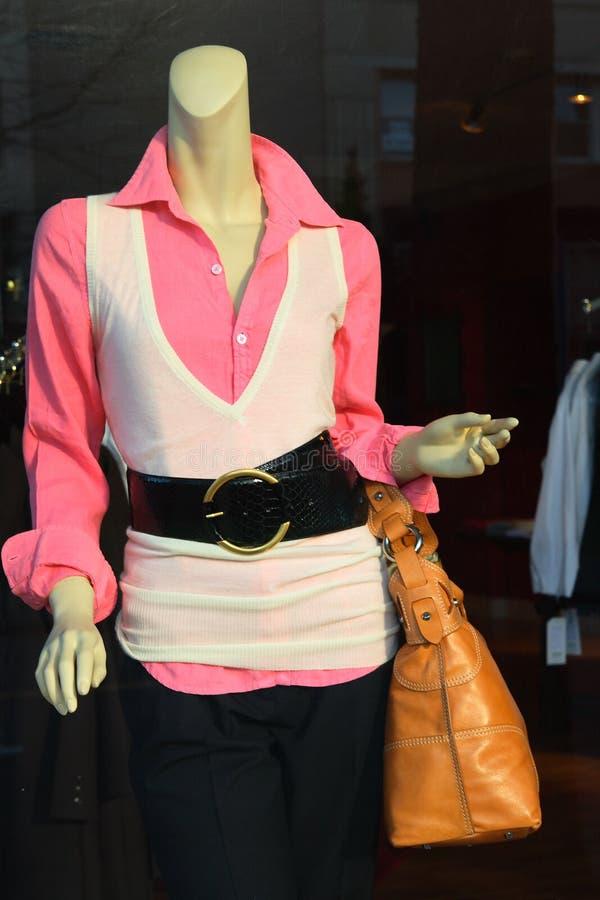 moda front sklepu zdjęcie stock