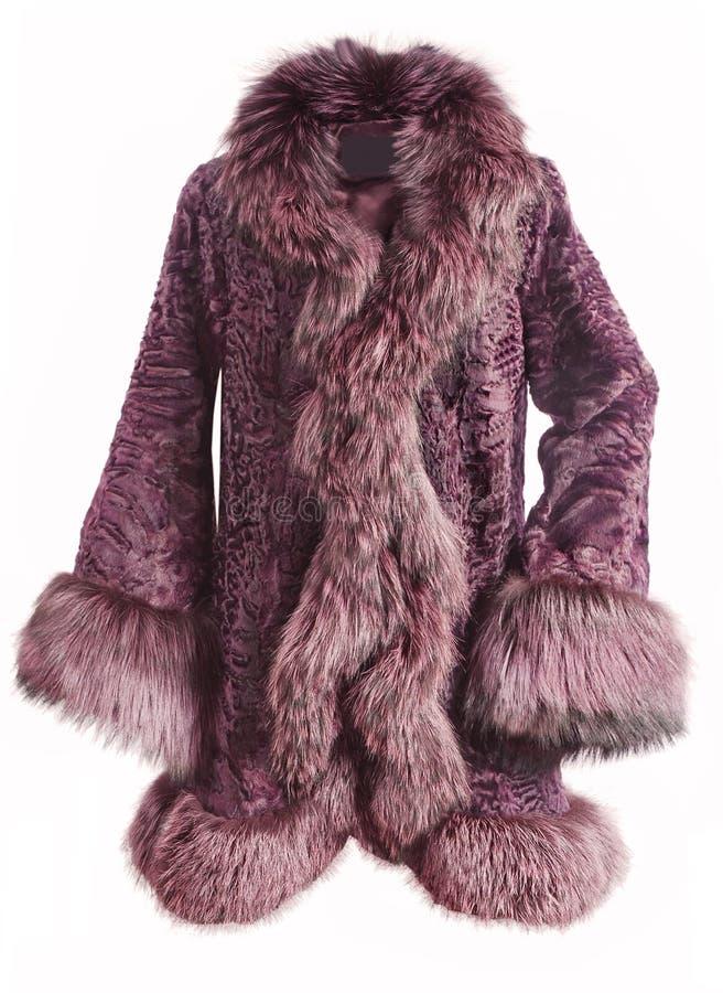 Moda futerkowy żakiet zdjęcie royalty free