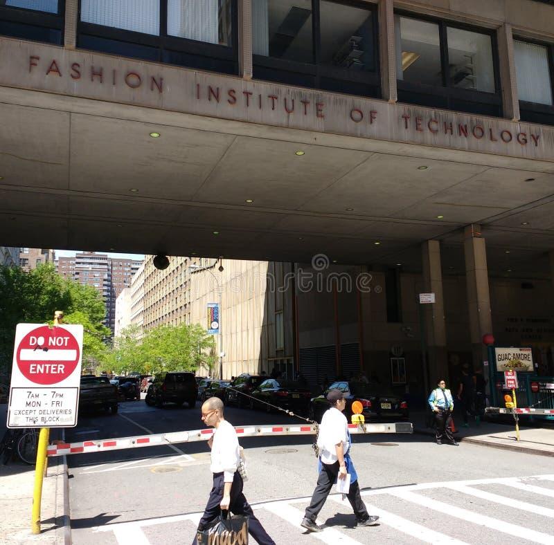 Moda instytut technologii, Miasto Nowy Jork, usa (napad) obraz stock