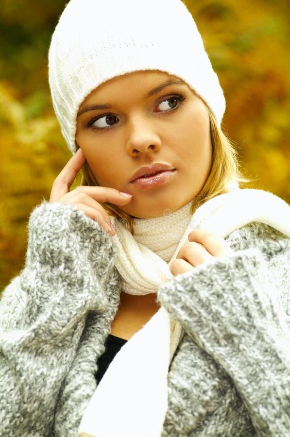 moda jesienią zdjęcia royalty free