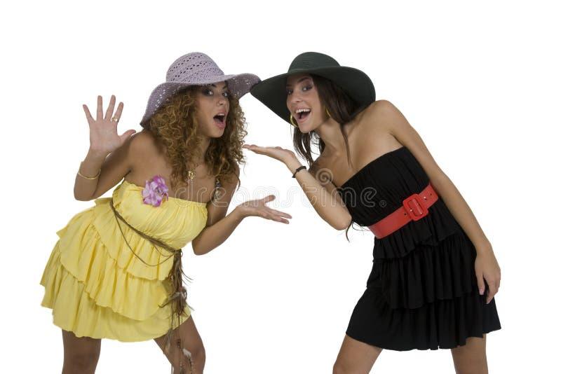 moda kapeluszu modeli obrazy royalty free