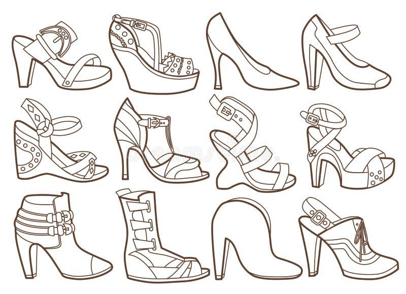Moda kuje kolekcję ilustracji