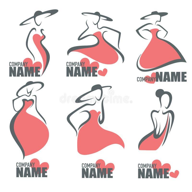 Moda logo royalty ilustracja