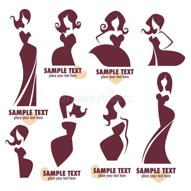 Moda logo ilustracja wektor