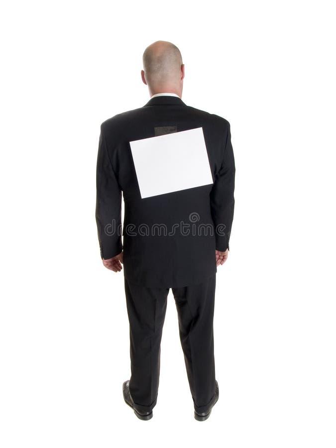 Moda - mężczyzna - biznesmena zadek kopie ja zdjęcie stock