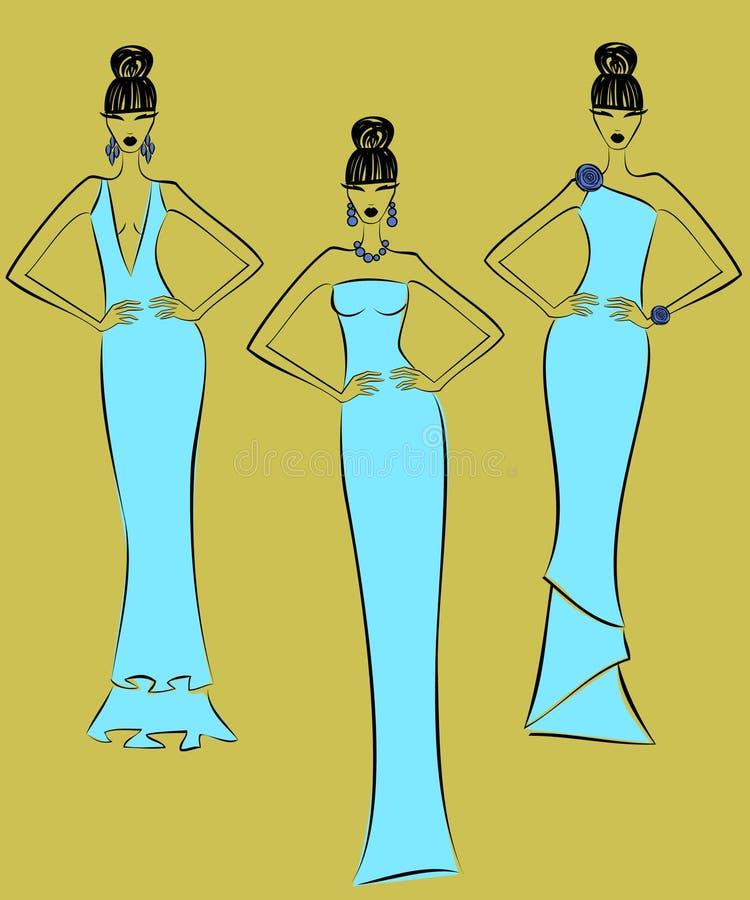 moda modele ilustracji