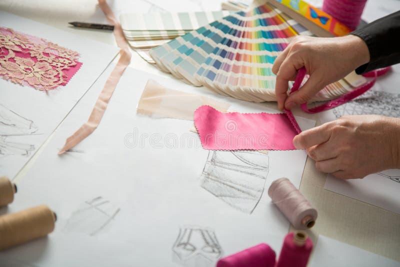 Moda o diseñadores del sastre imagen de archivo