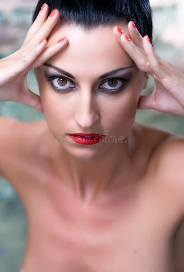 moda portret zdjęcia stock