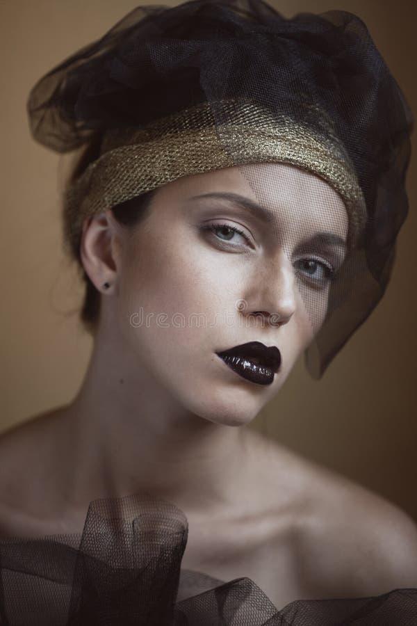 moda portret obrazy stock