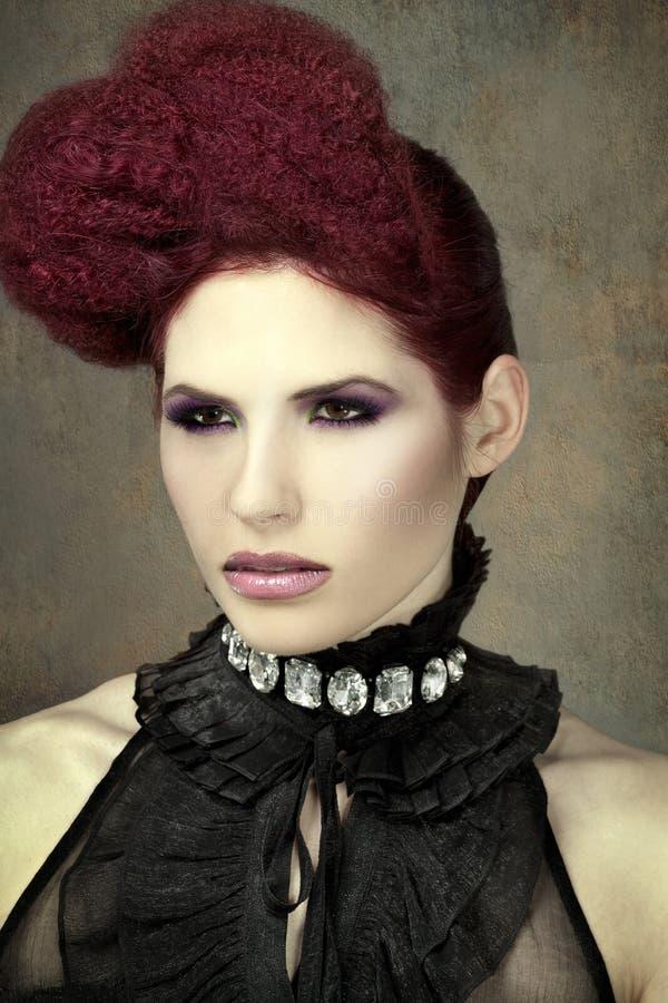 moda portret obrazy royalty free