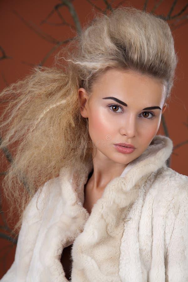 moda portret zdjęcie royalty free