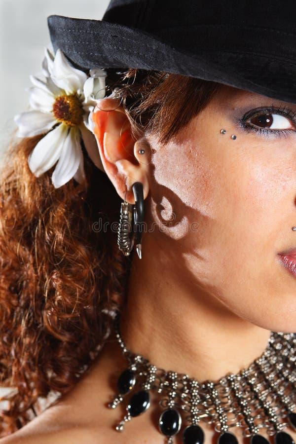 moda portrety zdjęcie stock