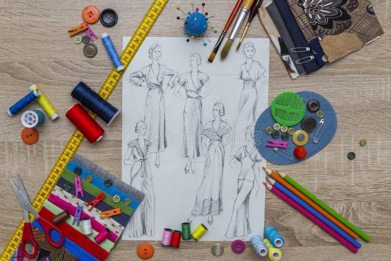 Moda projekt fotografia royalty free