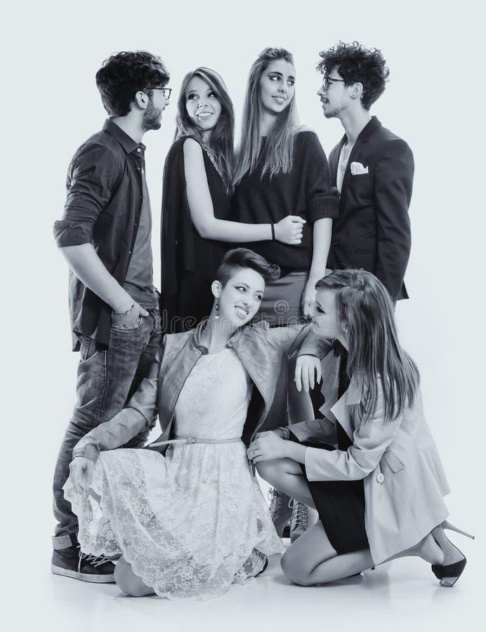Moda przyjaciele zdjęcie stock