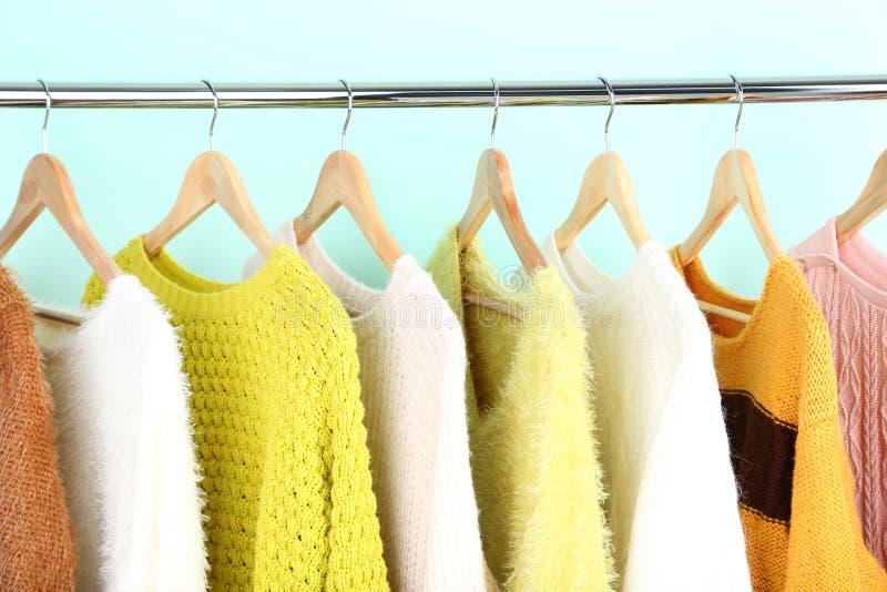 Moda pulower obrazy stock