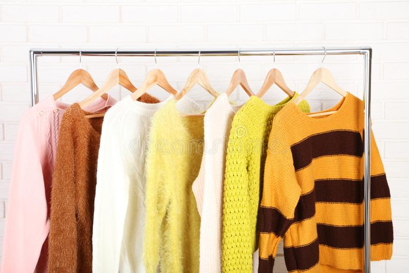Moda pulowery obraz stock