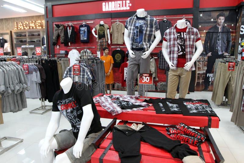 Moda sklep zdjęcie royalty free
