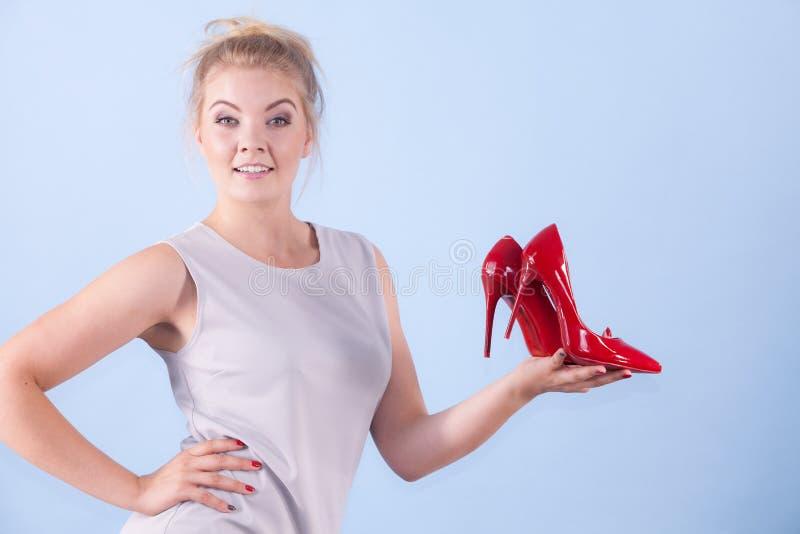 Moda stylista przedstawia szpilki zdjęcia royalty free