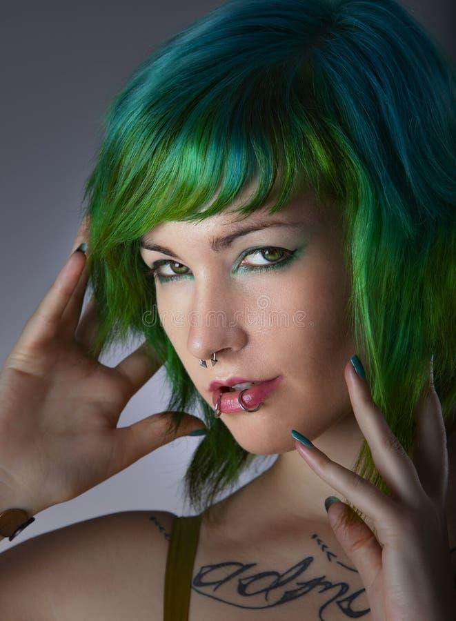 Moda verde fotografia stock libera da diritti