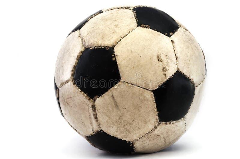Modderige voetbal royalty-vrije stock afbeeldingen