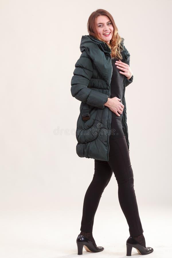 Mode à la mode de l'hiver photographie stock