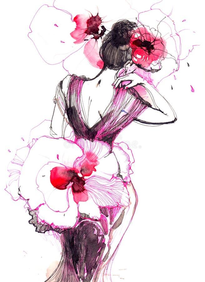 Mode illustration stock