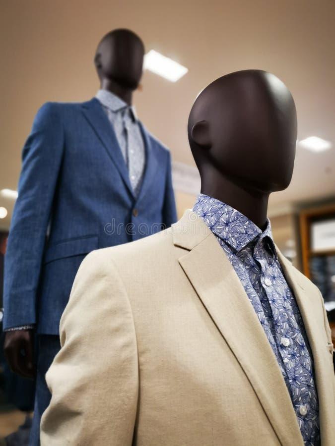 Mode blind - Kleidung für Männer lizenzfreies stockfoto