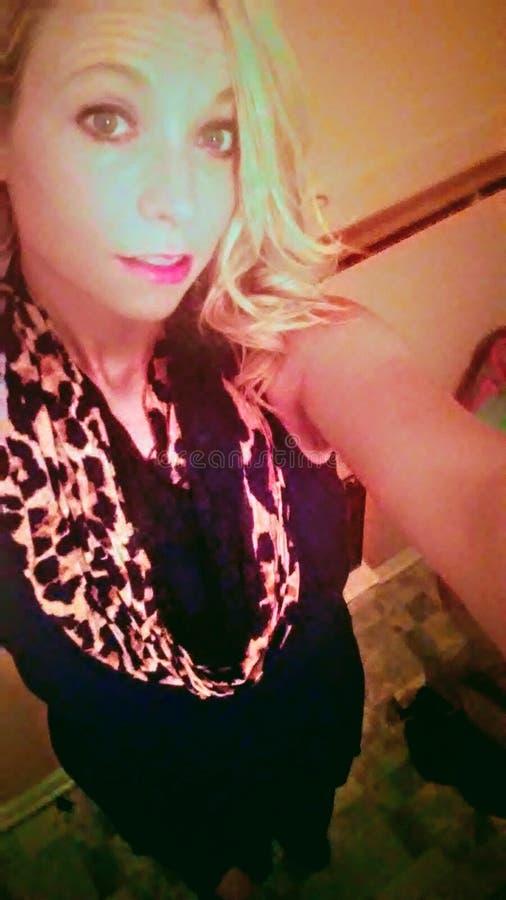 Mode blonde de femmes adultes image stock