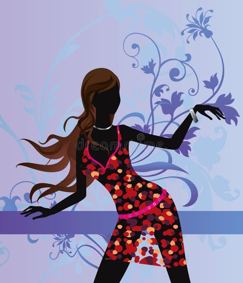 Mode de beauté illustration stock