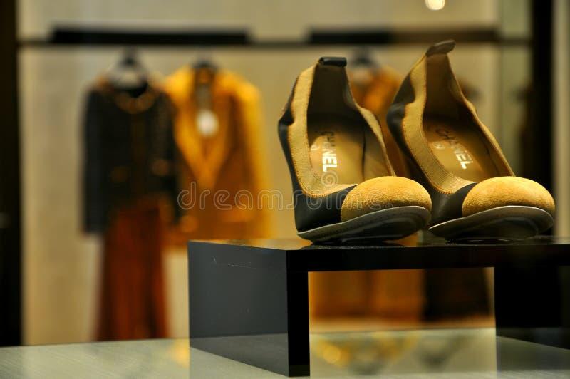 Mode de Coco Chanel images libres de droits