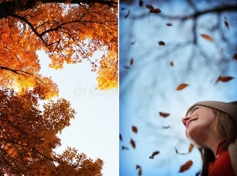 Mode de femme d'automne images stock