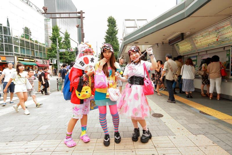 Mode de Harajuku image stock