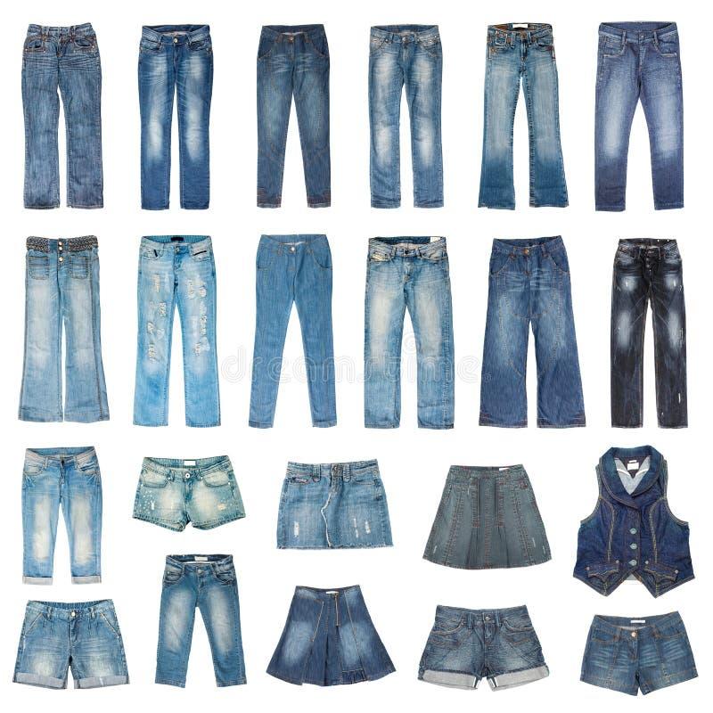 Mode de jeans photo libre de droits