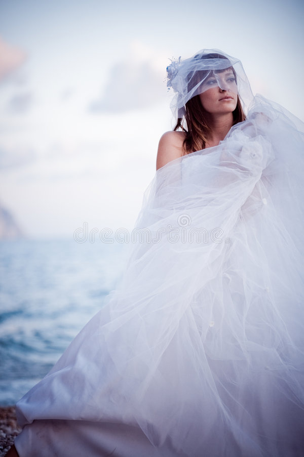Mode de mariage photo libre de droits