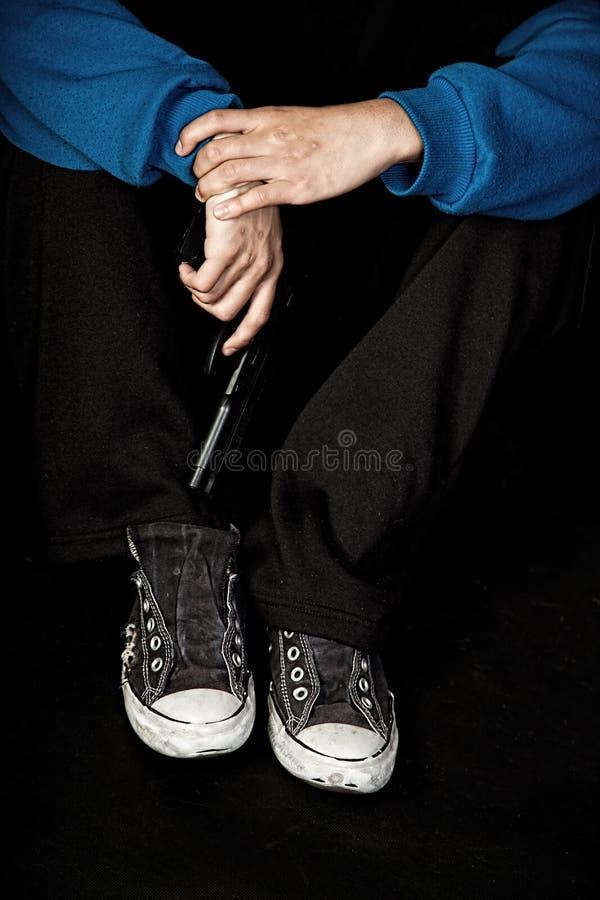Mode de vie adolescent de bandit photos libres de droits