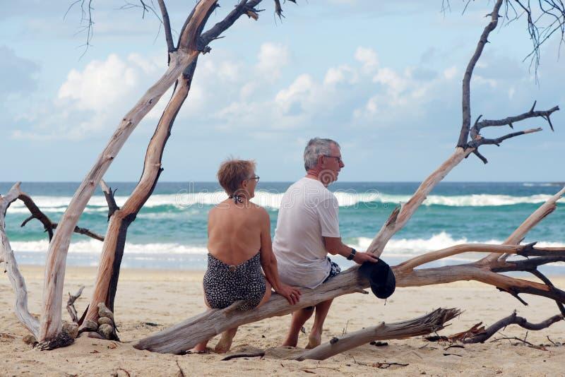 Mode de vie heureux d'aînés photo stock