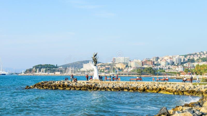 Mode de vie local par le littoral en Turquie photos libres de droits