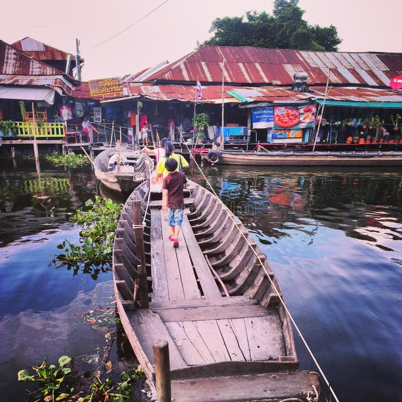 Mode de vie thaïlandais images libres de droits