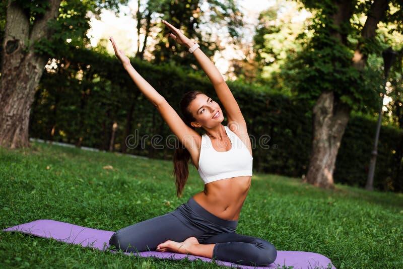 Mode de vie de yoga-Un photos libres de droits